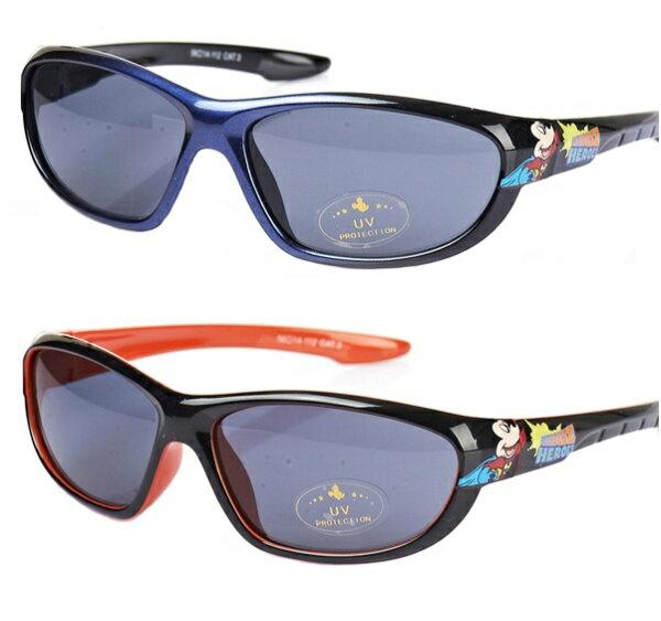 正版Disney迪士尼米奇兒童太陽眼鏡寶寶太陽鏡墨鏡-男生款