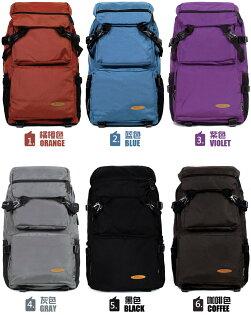 日韓新款後背包雙肩包學生書包多功能登山旅行包電腦背包旅遊包-6色單售