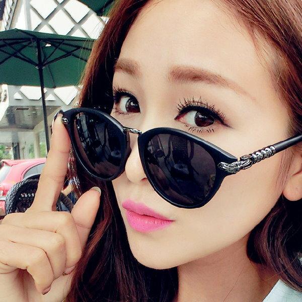 日韓流行款 太陽眼鏡克羅心個性墨鏡女款