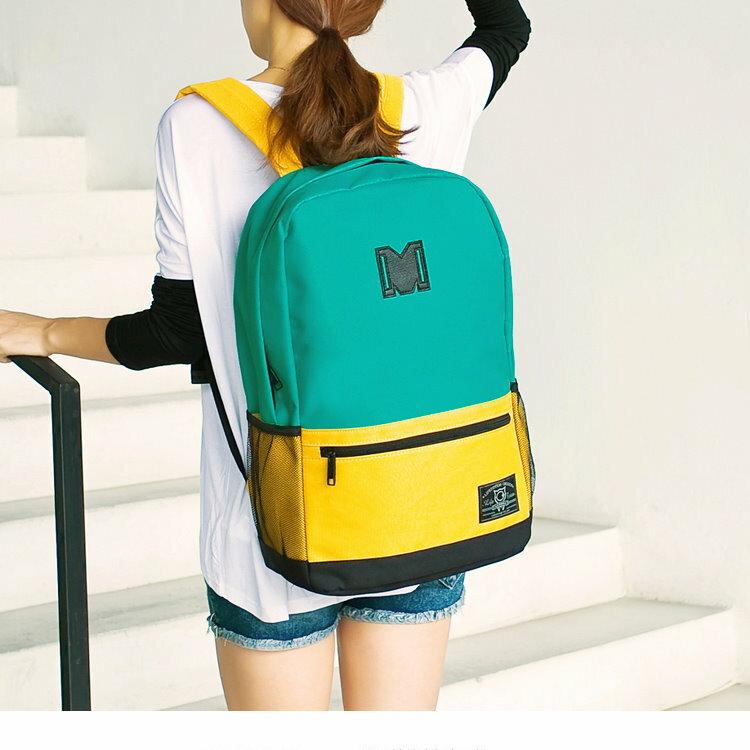 日韓新款流行時尚 後背包 旅行包 學院風 背包女學生書包 旅行電腦背包