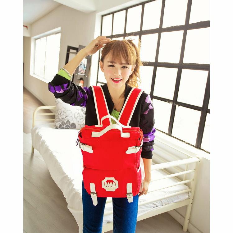 日韓新款流行時尚 後背包 旅行包 學院風 背包女學生書包 旅行電腦背包糖果色MM
