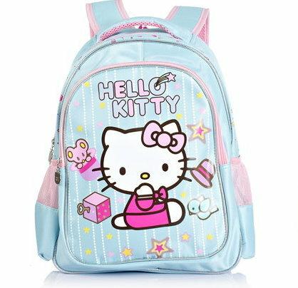 Hello Kitty 凱蒂貓兒童小學生書包女童減負雙肩包1~2年級~HK3065 ~