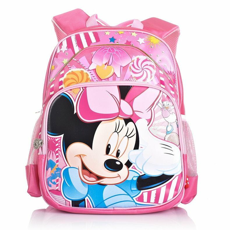 Disney 迪士尼 米妮小學生書包兒童減負護脊雙肩包 1~3年級SC9952