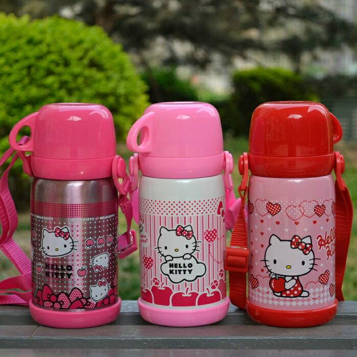 新款 Hello Kitty凱蒂貓 不鏽鋼保溫水壺/吸管保溫壺600ml/KT3614 /單售
