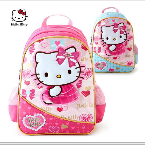 正版HelloKitty凱蒂貓兒童小學生書包女童減負雙肩包