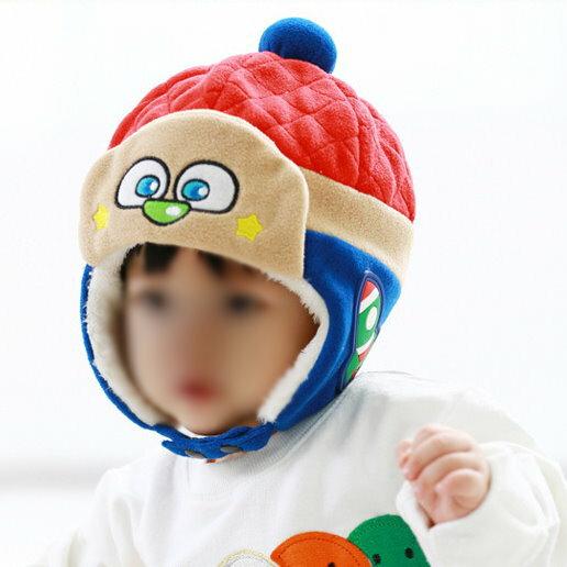 秋冬韓版寶寶毛絨帽嬰兒雷鋒帽嬰幼兒護耳帽 - 限時優惠好康折扣
