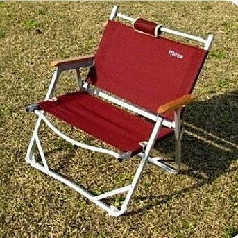 露營居家戶外折疊椅便攜式鋁合金休閒椅導演椅/2色