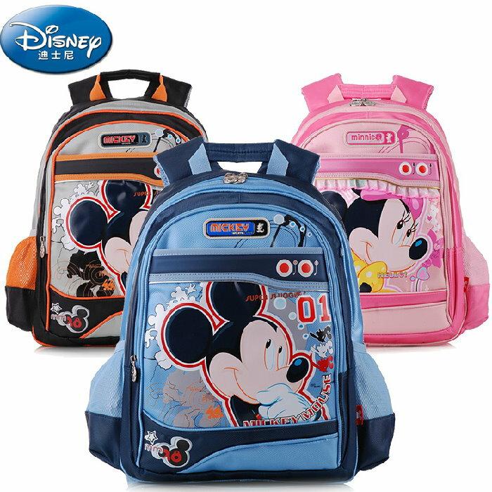 正版Disney 迪士尼米奇米妮 兒童書包 減負護脊書包