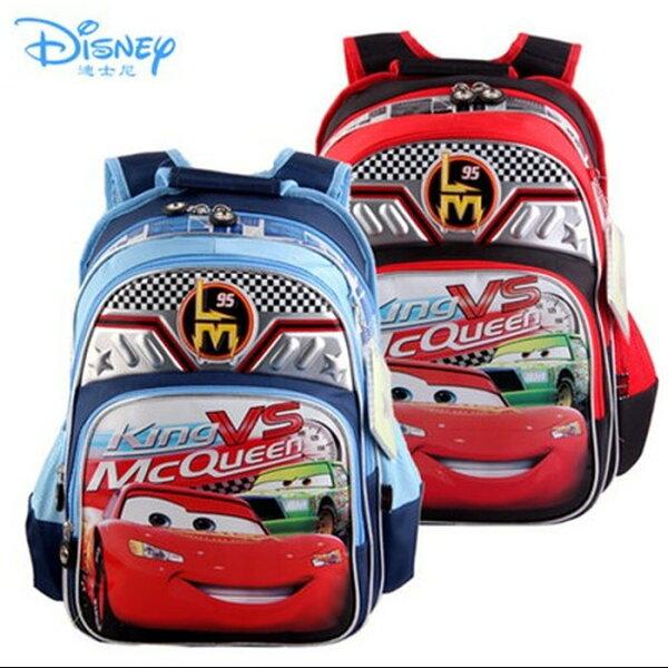 正版Disney迪士尼汽車總動員閃電麥昆兒童書包後背包-RB0003