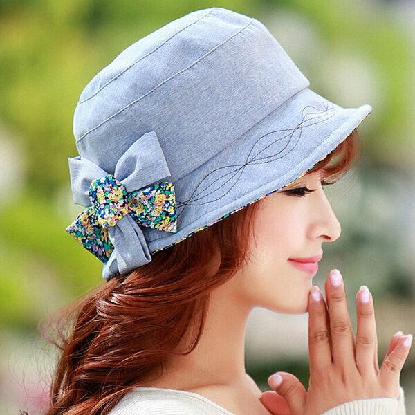 2015新款春夏秋女士小盆帽遮陽帽子漁夫帽防曬帽
