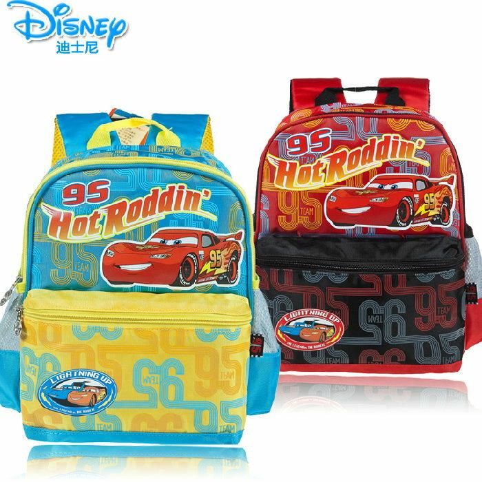 Disney 迪士尼汽車總動員 閃電麥昆幼兒園書包 2~5歲後背包~TGRB0002