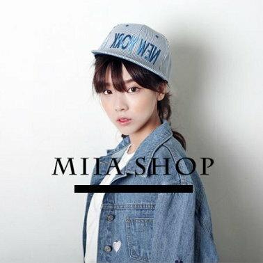 日韓新款 潮流 棒球帽 平沿帽 街舞嘻哈滑板帽 new york條紋款-單售