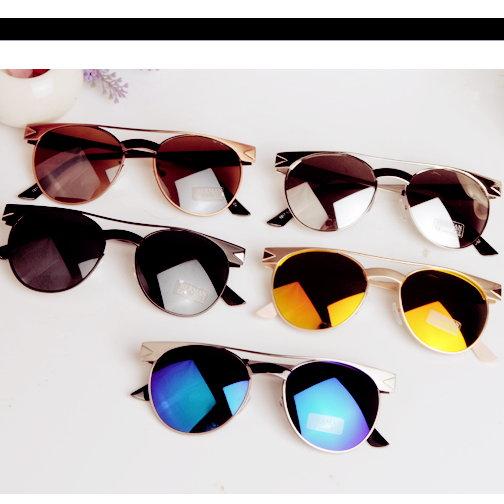日韓新款金属太陽眼鏡女明星款男士太陽眼鏡墨鏡M92單售