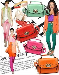 韓版可愛鎖包手提斜挎包側面口袋單眼相機包5色-單售