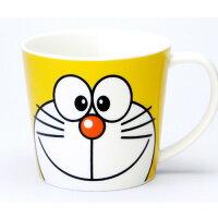 小叮噹週邊商品推薦日本原裝 DORAEMON 哆啦A夢 小叮噹 大口徑馬克杯/湯杯-黃色