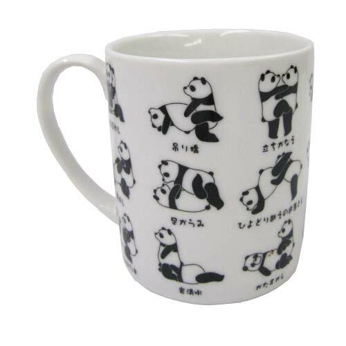 日本原裝 PANDA 熊貓馬克杯-情趣系列