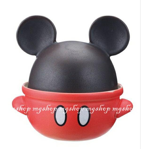 日本原裝 迪士尼 米奇造型砂鍋san-1930 (日本製)0.7L