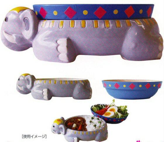 日本原裝 SUNART 大象器皿餐盤組-SAN1970