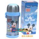 Disney 迪士尼 不鏽鋼保溫杯/水壺600ML(藍色米奇叉腰款)單售