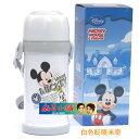 Disney 迪士尼 不鏽鋼保溫杯/水壺600ML(白色米奇眨眼款)單售
