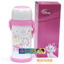 Disney 迪士尼 不鏽鋼保溫杯/水壺600ML(白色瑪莉貓款)單售