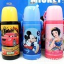Disney 迪士尼 不鏽鋼真空保溫水壺320ML(米奇/米妮/cars/公主)單售3413