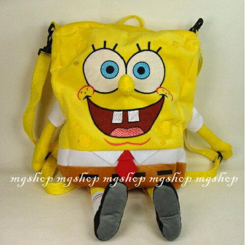 原裝正版Sponge Bob海綿寶寶 兒童拉鍊後背包/側背包(2款)