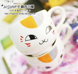 日本夏目友人帳貓咪老師貓咪先生 隨手杯水杯子馬克杯/單售