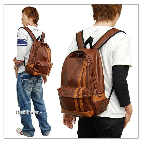 2013日本新款旅行後揹包戶外休閒背包男款-3色單售