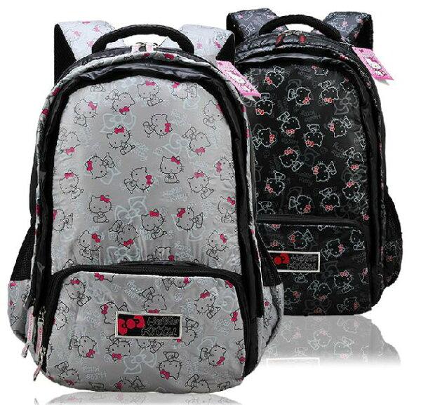 麻吉小舖:正版HelloKitty凱蒂貓書包後背包旅遊包-HK3045(2色單售)