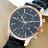 Daniel Wang 3136-IP 霸氣大錶面經典仿三眼石英黑框金屬男錶 4