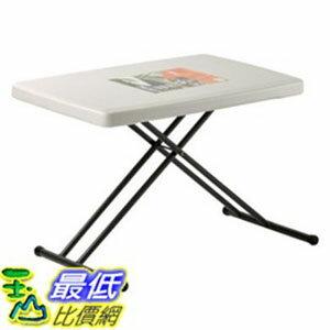 [COSCO代購如果沒搶到鄭重道歉] W473125 Lifetime 個人折疊桌 Lifetime Adjustable Personal Table