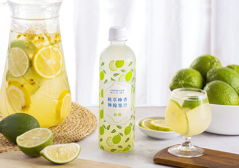 招牌檸檬汁 純萃檸香 500ml 6入