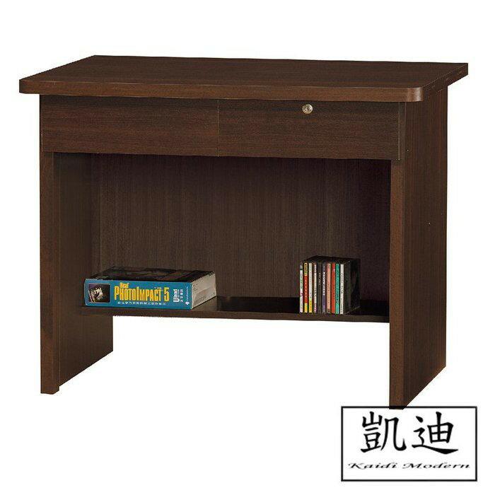【凱迪家具】F32-463-121 黑桃3尺書桌(121) /大雙北市區滿五千元免運費
