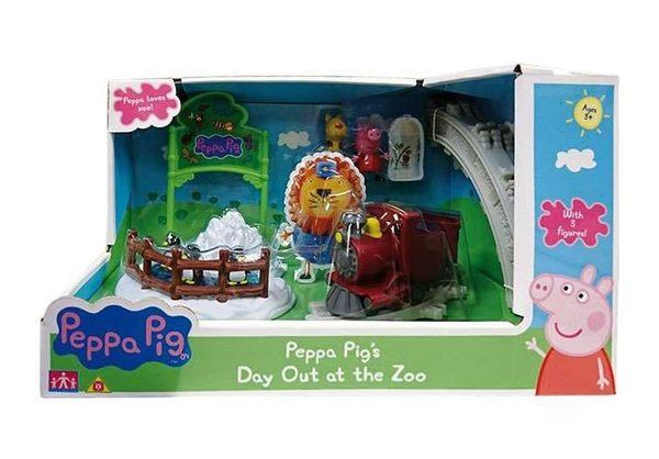 新品上市]粉紅豬小妹-動物園旅行組879元