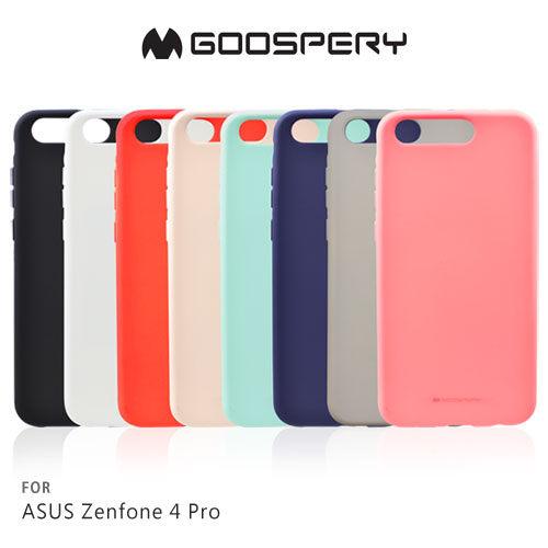 ASUSZenFone4ProZS551KLGOOSPERYSOFTFEELING液態矽膠殼保護殼手機殼TPU軟套背殼殼
