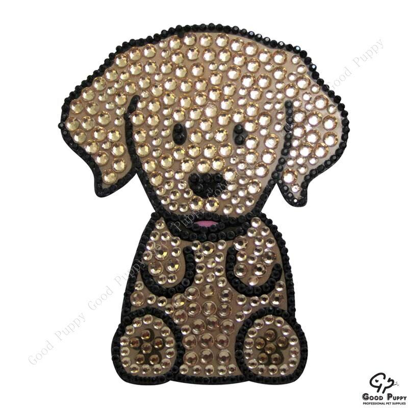 加拿大進口狗狗寵物水鑽貼紙-黃金獵犬92957 Golden Retriever* 手機/平板/電腦/iPad/iPhone/小禮物/贈品