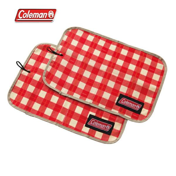 露營趣:【露營趣】中和安坑ColemanCM-26880午餐墊紅格紋餐桌布桌墊野餐墊