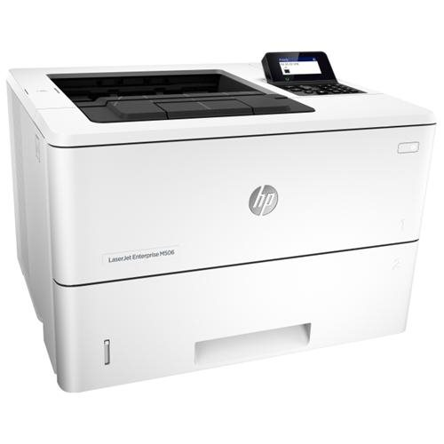 HP LaserJet M506DN Laser Printer - Plain Paper Print - Desktop 0