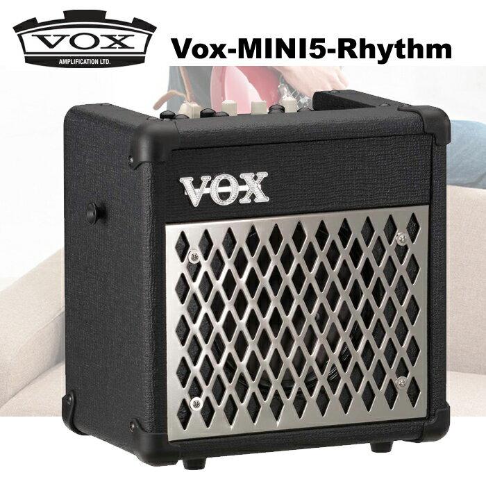 【非凡樂器】『銀色VOX MINI5 RHYTHM』吉他音箱/吉他擴大機/可電池供電/手提