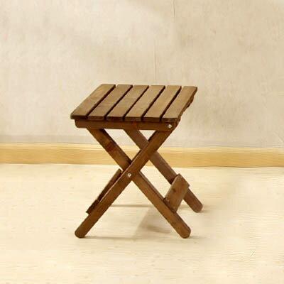 【可折疊椅子-ZM027-36*33*44cm-1張/組】杉木桌椅組合戶外陽臺椅花架(不含桌子)-5170860