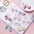 PS Mall 韓版清新彩色亮片耳環甜美百搭花朵長款流蘇耳墜【G093】 2