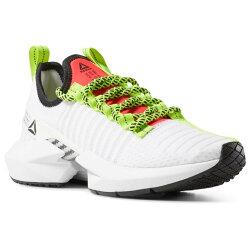 REEBOK SOLE FURY 女鞋 慢跑 訓練 陰陽 編織 透氣 EVA泡沫鞋墊 白綠【運動世界】DV4490