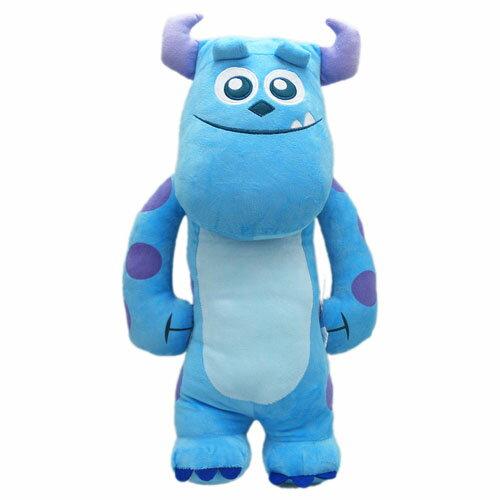 【真愛日本】13071900002  3號全身長抱枕50cm毛怪 怪獸電力公司 怪獸大學 懶骨頭 靠枕