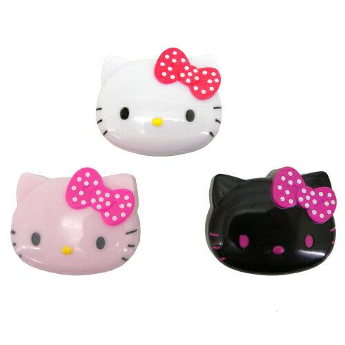 ~唯愛 ~14062400003 頭形折疊鏡~桃結白點L 三麗鷗 Hello Kitty