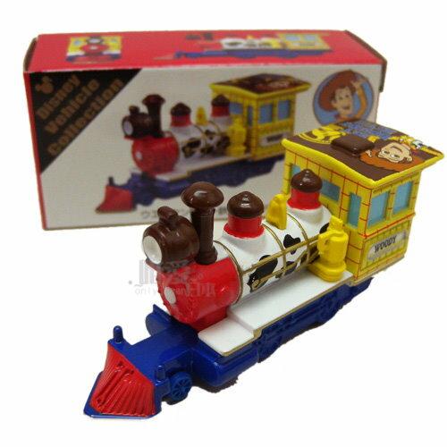 【真愛日本】14032300009 限定樂園小車-胡迪鐵道  玩具總動員 東京海洋迪士尼