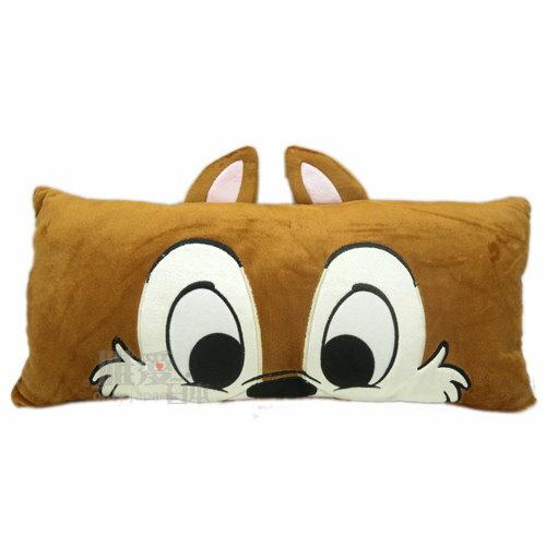 【真愛日本】13051400007 3號大臉懶人長枕48cm奇奇  迪士尼 花栗鼠 奇奇蒂蒂 抱枕 靠枕 懶骨頭