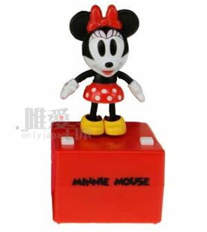 唯愛日本* 12070600008 踢踏舞-米妮 迪士尼 米老鼠 米奇 米妮 公仔 擺飾收藏品 跳舞公仔 正版