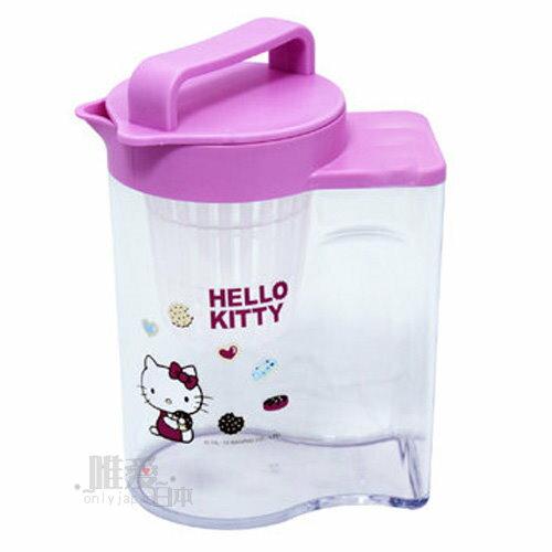 【真愛日本】12082800002 冷水壺-甜甜圈 三麗鷗 Hello Kitty 凱蒂貓 茶壺 開水壺 台灣製