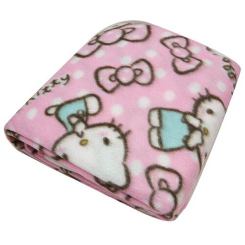 【唯愛日本】13091300005 保暖袖毯S-KT多圖粉 三麗鷗 Hello Kitty 凱蒂貓 懶人毯 冷氣毯